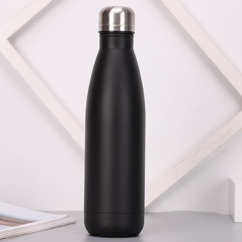 Factory Whoalesell Cola Bottle, Stainless Steel Vacuum Water Bottle Tumbler With Lid