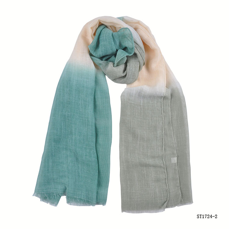 TOROS Yiwu Professional Factory Viscose and Polyester Long Crinkle Scarf