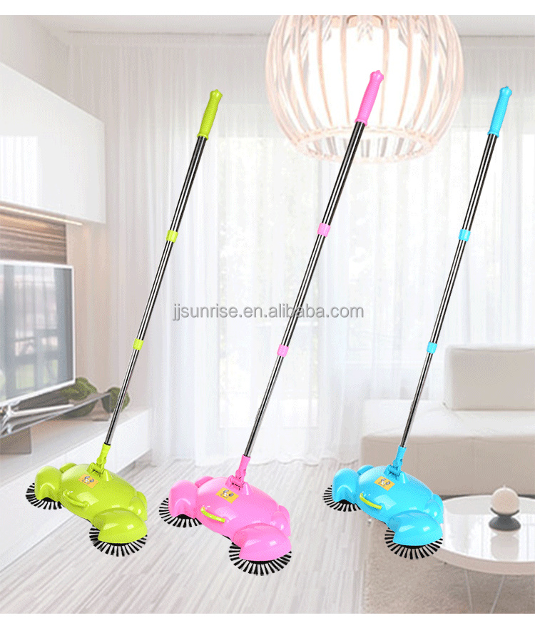 360 Degree Handle Push Lazy Sweeping Machine