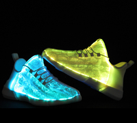 Newest design light up led shoes high quality led shoes for men