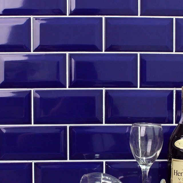 China Blue Ceramic Tile Bathroom Wholesale Alibaba - Cobalt blue ceramic tile 4x4
