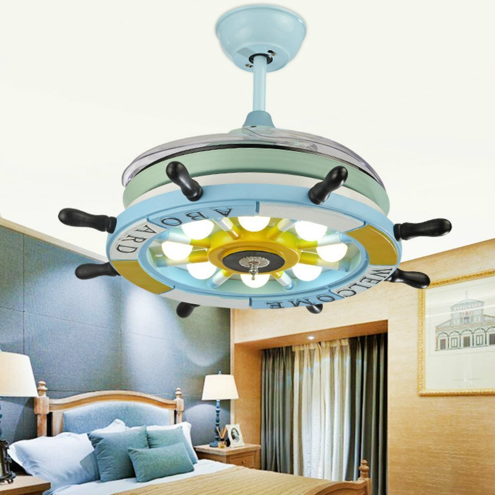 cheap ceiling lighting shallow ceiling get quotations lighting groups 42 inch blue ceiling fan lights pirate ship steering wheel led chandelier for cheap light blue find deals on line at
