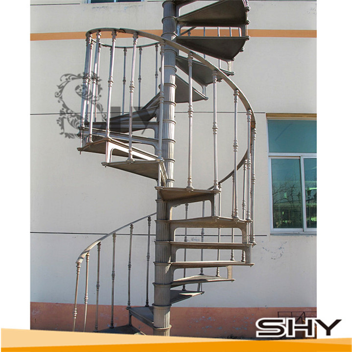Model 1900 Cheap Prefabricated Stairs Outdoor   Buy Prefabricated Stairs  Outdoor,Outdoor Iron Stairs,Modern Spiral Staircase Product On Alibaba.com