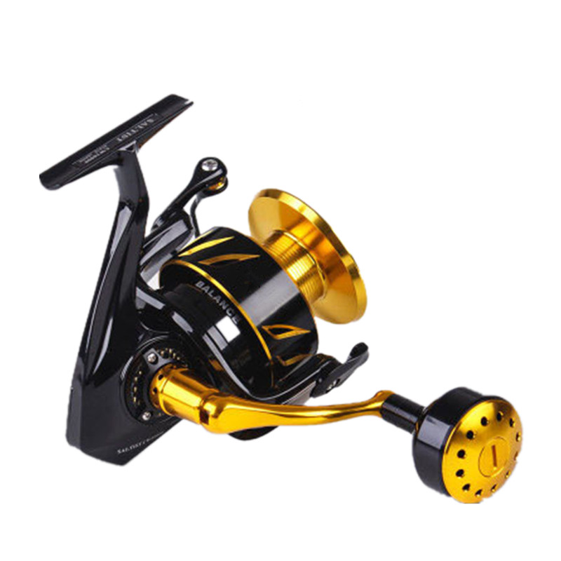 CW3000 35kgs arraste Fishing Reel Spinning Reel Jigging carretel de Liga Leve