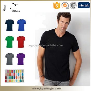 082176548174 Supreme Soft Cotton Mens Plain V-neck T Shirt In Wholesale Price ...