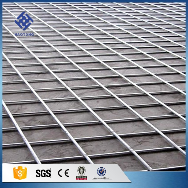 Reinforced Concrete Galvanized Welded Wire Mesh Panel, Reinforced ...