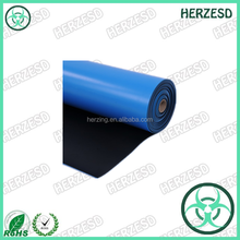 Customized Size Static Dissipative Rubber esd table mat