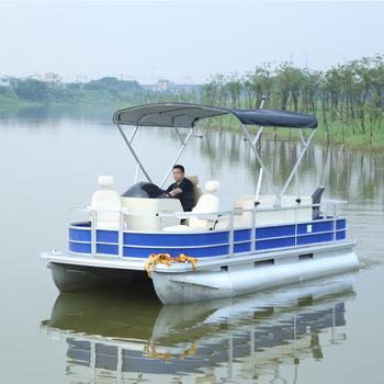Terrific Mini Electric Pontoon Boat With Seats Cover Tent Motors And Other Accessories For Sale Buy Pontoon Boat Seats Mini Pontoon Boat Electric Pontoon Alphanode Cool Chair Designs And Ideas Alphanodeonline
