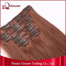 Alibaba Express China Clip In Layer Hair Extension Light Brown Egypt Human
