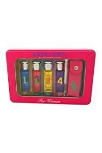 Ralph Lauren The Big Pony Fragrance Collection 5 Piece Mini Gift Set