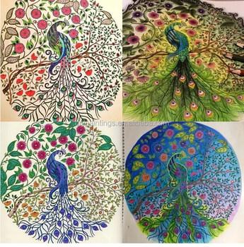 Hot Sale Kids Secret Garden Custom Coloring Book