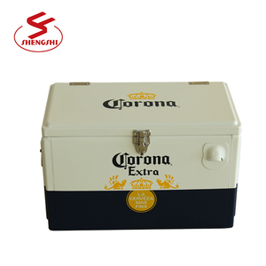 2018 promotional 15 L Corona metal corona beer cooler box