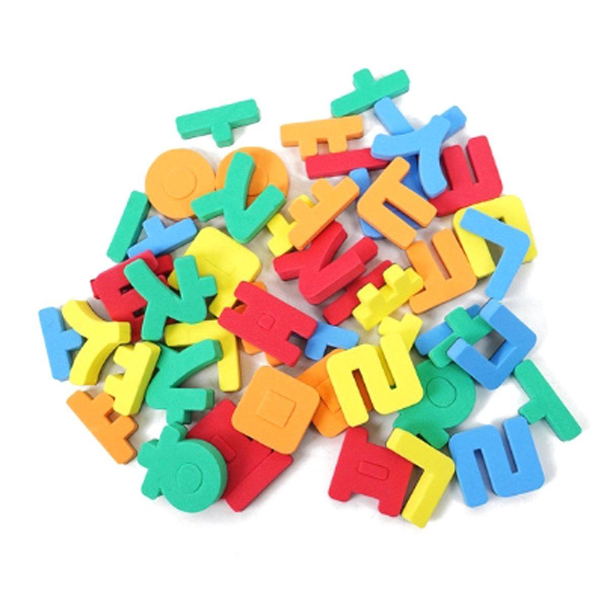 26982e611 Get Quotations · Rubber Magnets Educational Toy Korean Alphabet Hangul