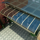 Aluminium Canopy Awning Polycarbonate Roof For Window