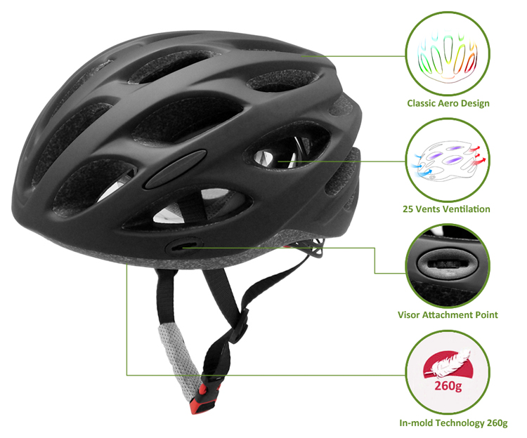 High Quality Bike Helmet With Visor 7