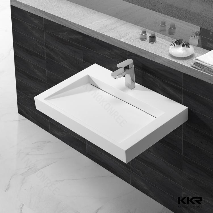 Kkr Bathroom Vanity Epoxy Resin Sink