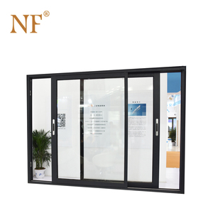 16x7 frosted glass garage aluminum sliding door panels prices