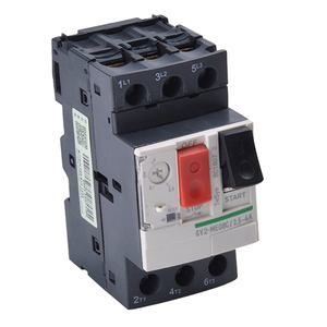 motor starter GV2ME series Motor protector Circuit Breaker Thermal Magnetic Type MPCB, 3 Phase Motor Protection Circuit Breaker