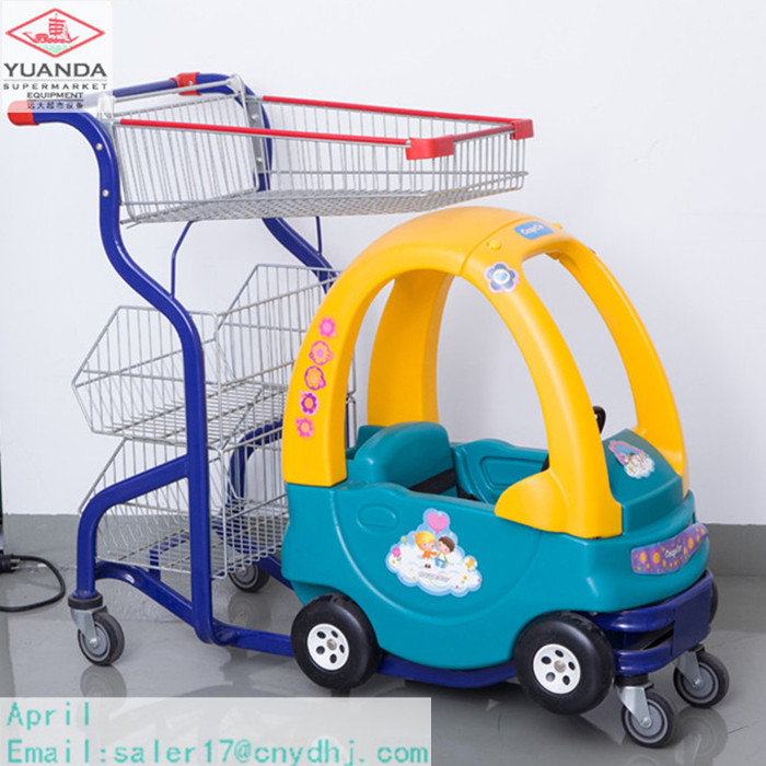 Shopping mall baby trolley toy cars for kids to drive children toy cart