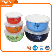 high quality custom colors serving soup bowls wholesale with lids