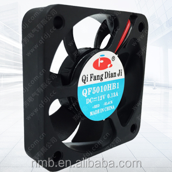 5V / 12V/24V Industrial DC Fans Low Noise 50X50X10mm Cooler fan