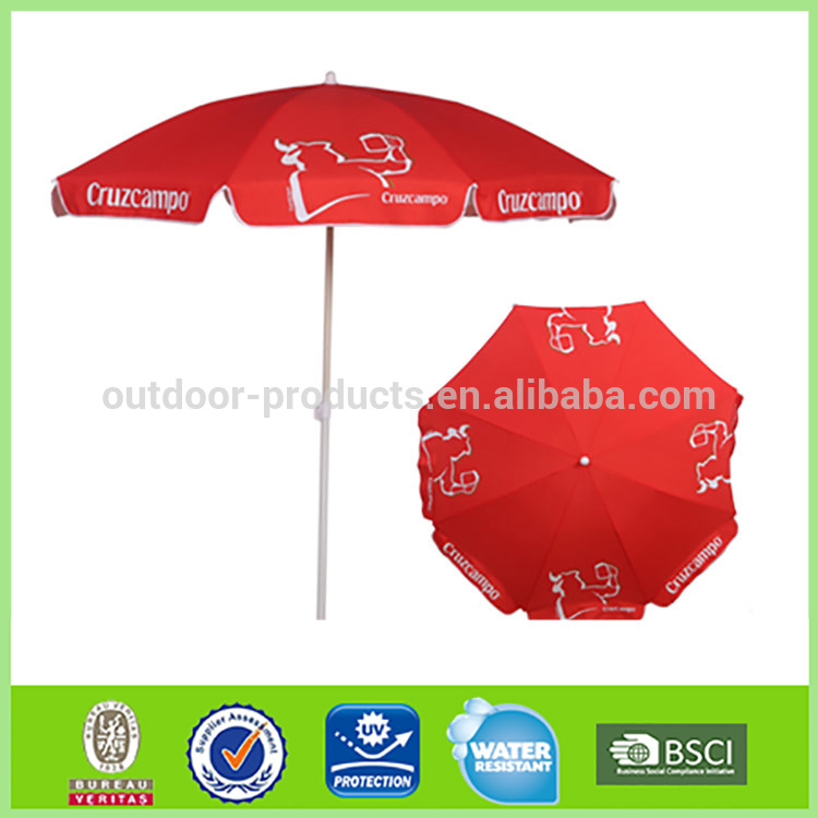 Hot sale Fashion Sun protection Polyester cast iron umbrella base