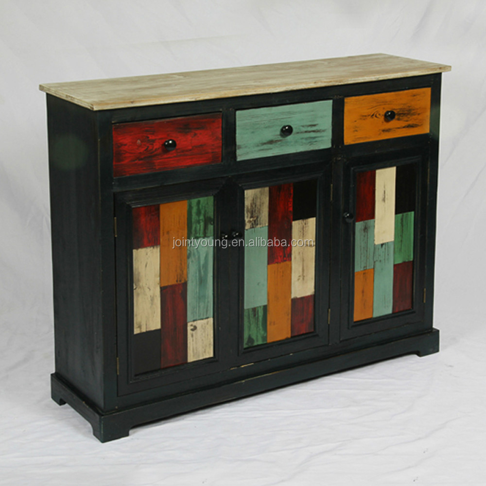 Indoor shabby chic houten kast voor woonkamer houten kast ...