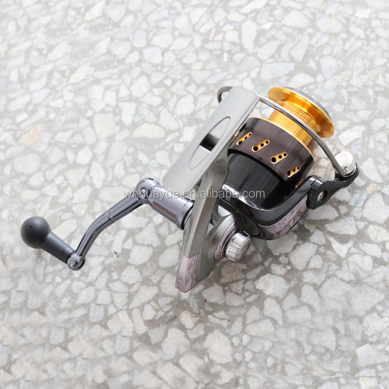Instant anti-reverse system aluminium spinning fishing reel, Customized