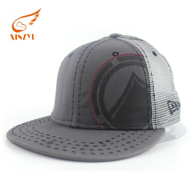 Cheap Custom Mens Flexfit Mesh Trucker Caps With Elastic Sweatband ... e65dab13153