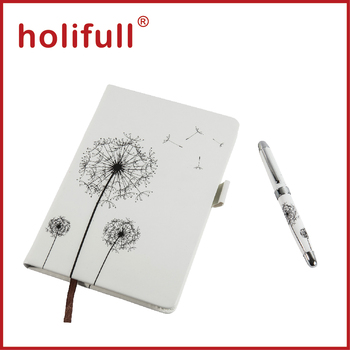 2015 high end custom logo pen and diary gift set for women for High end gifts for women