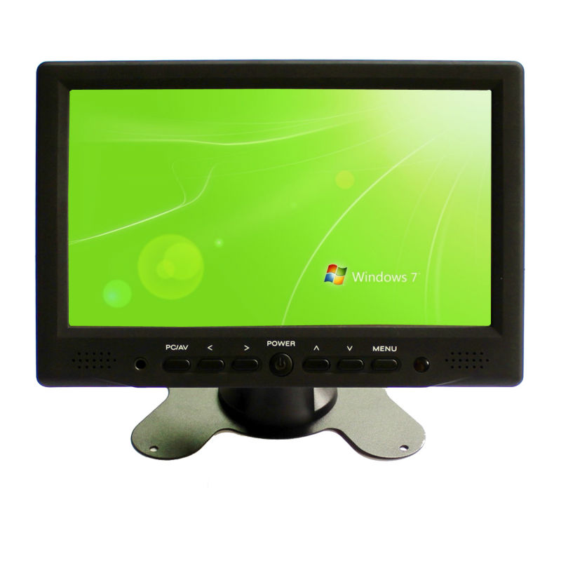 "7 ""dslr hdmi lcd monitor, vga lcd touch monitor with av input"