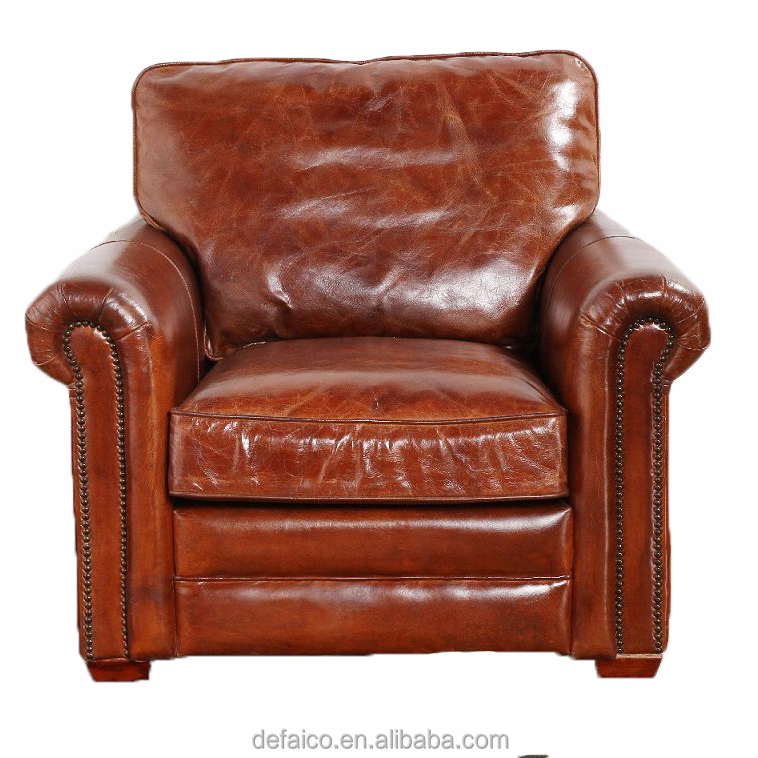 Vintage Leather Armchair Classic - Buy Vintage Leather ...