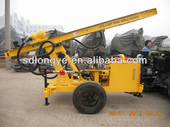 cheapest mobile water well drilling rig