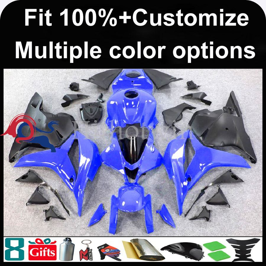 INJECTION MOLDING panels 2009 2010 2011 2012 CBR600 RR blue black ABS Plastic Bodywork Set Fairing Fit For HONDA CBR600RR F5 CBR