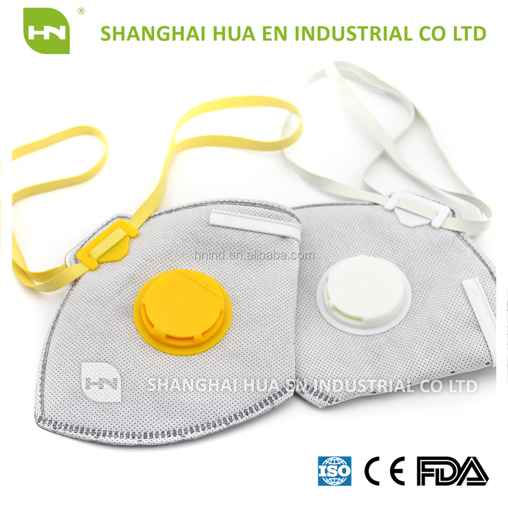 Safety Face Mask Vertical Folded Mask Niosh N95 Approval