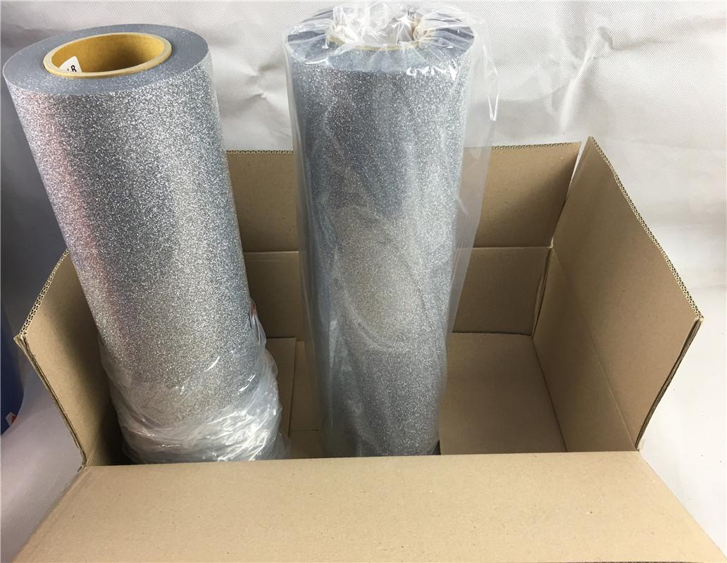 Caliente cáscara blanca imprimible brillo vinilo de transferencia de calor para cuero