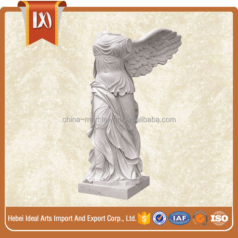 Customized stone standard women statue life size human statue