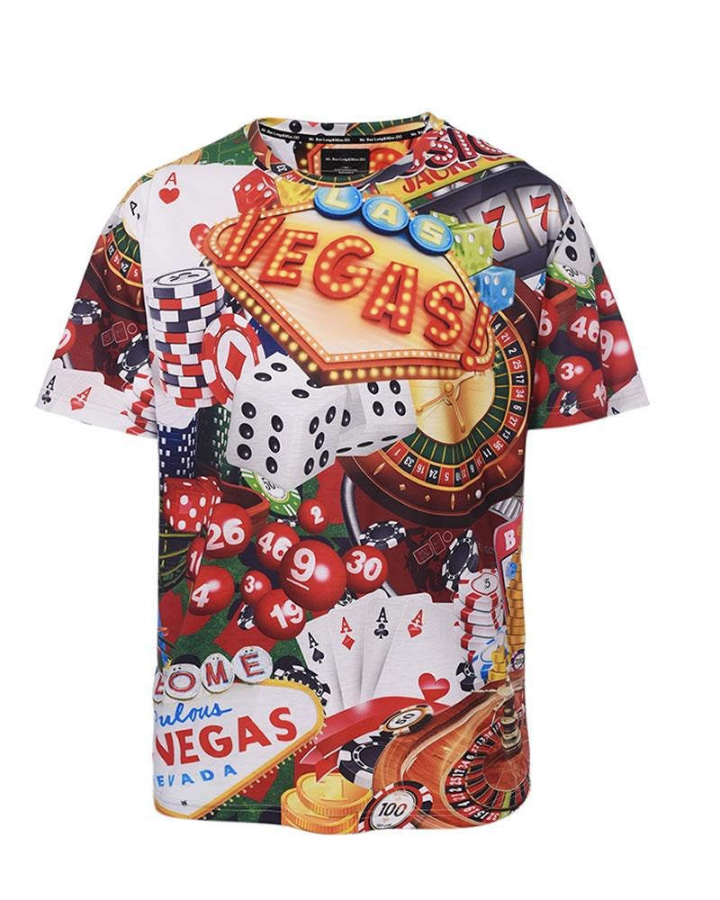Cotton Fabric Custom Full Shirt 3d Printing Man Sublimation T Shirt