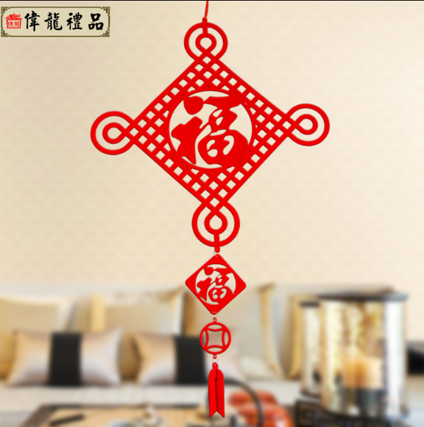 2016 Felt Material Chinese New Year Lantern Festival <strong>Decorations</strong>
