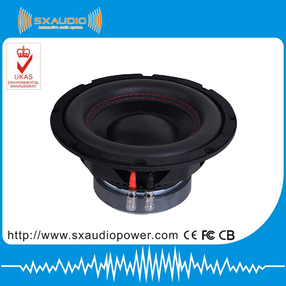 hot sell high power 8inch car subwoofer, car audio subwoofer speaker ,500w max subwoofer