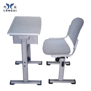 School furniture KD desk and chair PP panel school stdents sets