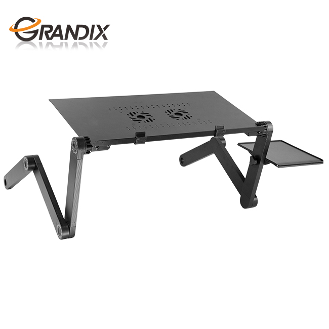 Ergonomic laptop table bed cooling desk stand vertical