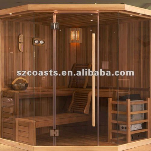 House designs Diamond Luxury Sauna Rooms in 2 Steps for 4-7 people