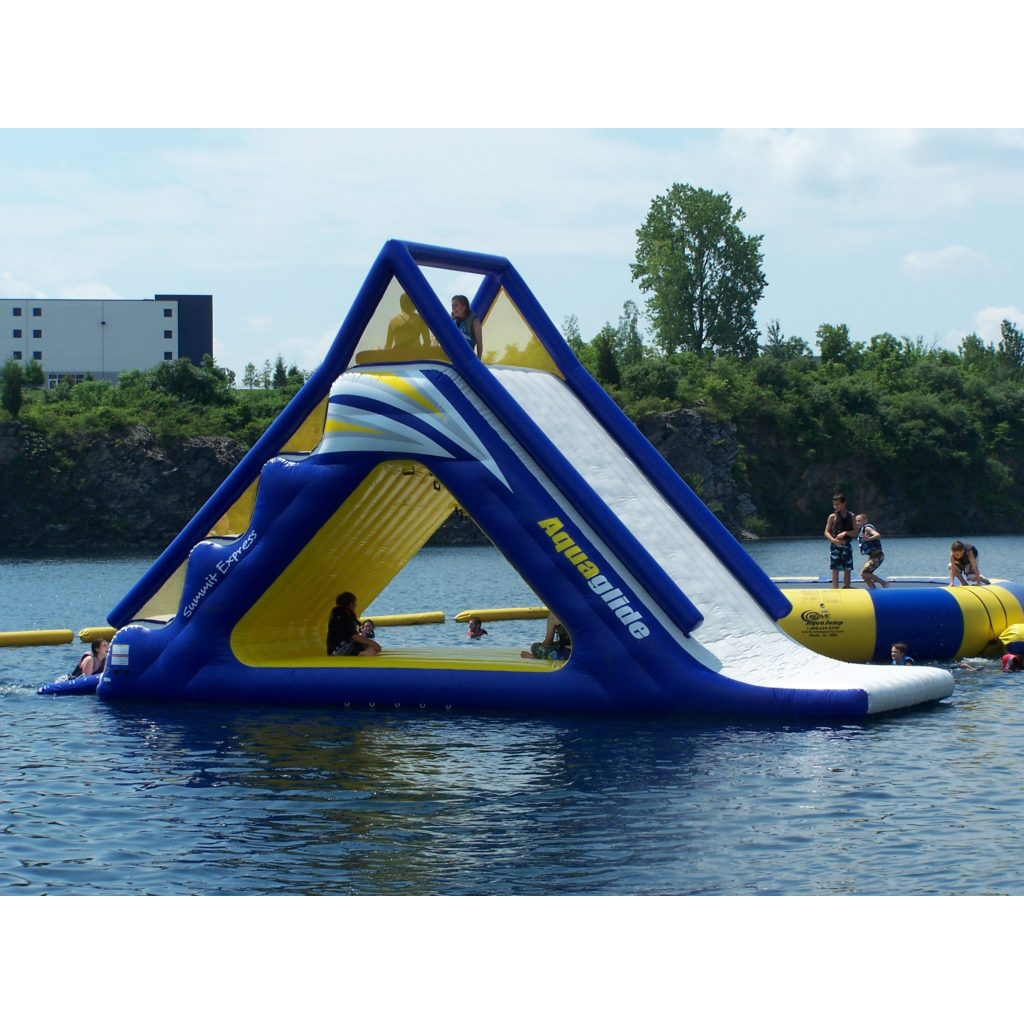 Commercial Big Inflatable Floating Water Park Adventures Inflatable Water Park