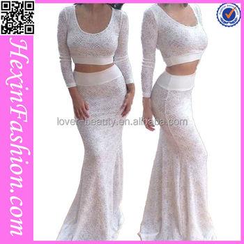Fashion Mermaid White Lace Evening Dress Made In China Buy Evening Dresses Made In Turkey