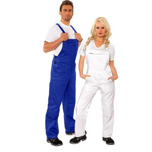 Workwear Pants Cotton Bib Overalls Fireproof Protective Clothing Bib Pants