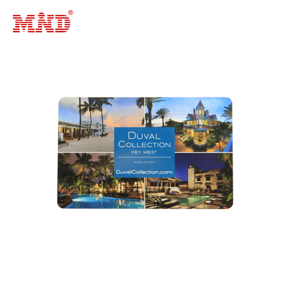 Plastic Printed Hotel Contactless Ic Card Pvc