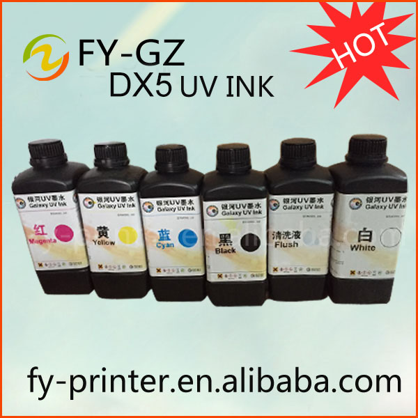 Top Selling UV Led Ink DX5 For Flatbed Printer