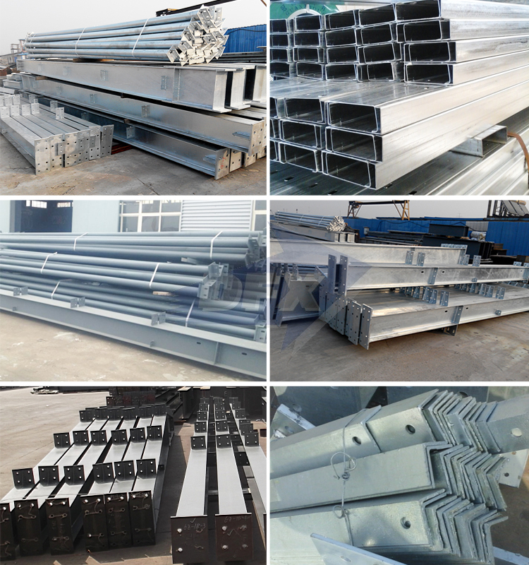 Fabrication Multi-Layer Corrugated Steel Structure Warehouse