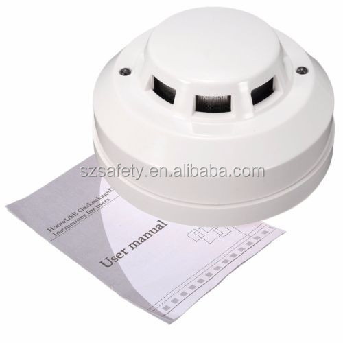 Good price wired Relay Smoke Detector for Family and Personal Security